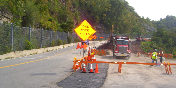 South Access Road Improvements - New York Power Authority