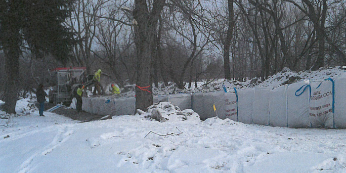 West Seneca Temporary Flood Wall